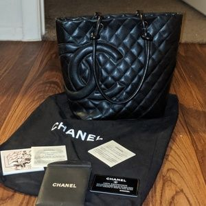 Authentic Chanel Mini Tote